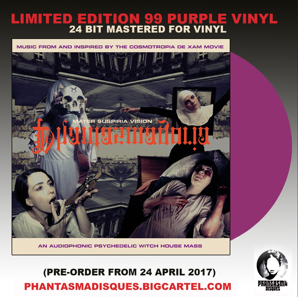 Image of LIMITED 99 PURPLE VINYL Mater Suspiria Vision PHANTASMAGORIA