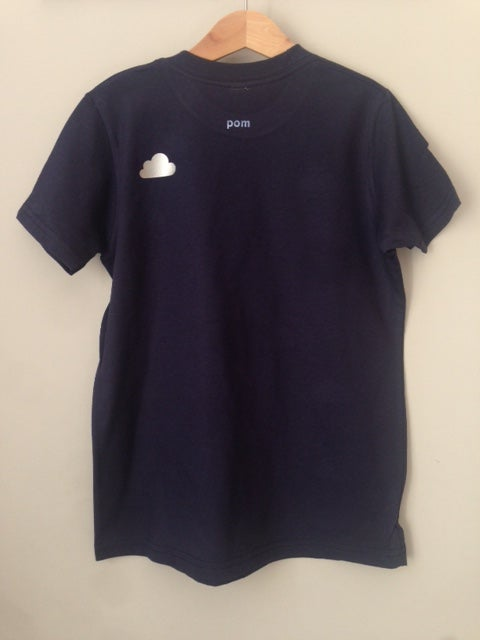 Image of T-Shirt cloud navy