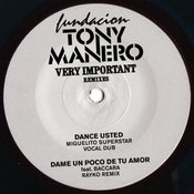 "Image of Fundacion Tony Manero ""Very Important Remixes"""