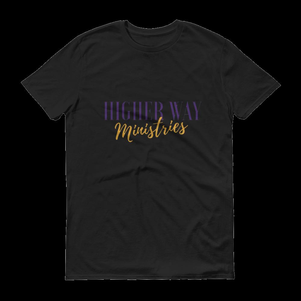 Image of Higher Way Ministries (HWM) Tee Black