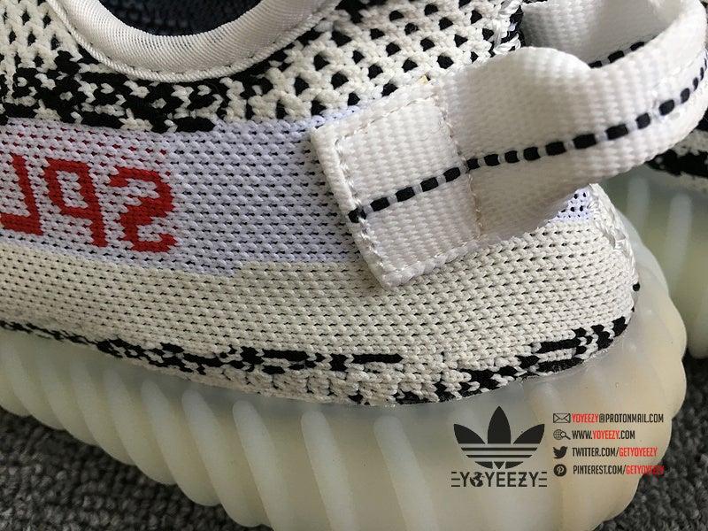 100% Authentic Adidas Yeezy Boost 350 V2 Zebra Size 10.5!