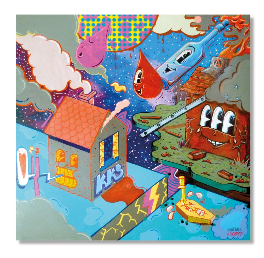 Image of 'Running Riot' by Sickboy and Vinnie Nylon