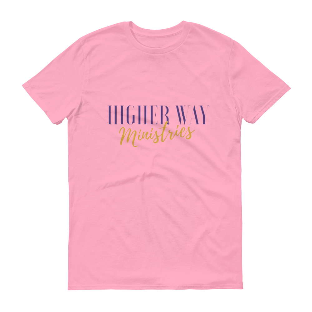 Image of Higher Way Ministries (HWM) Tee Charity Pink
