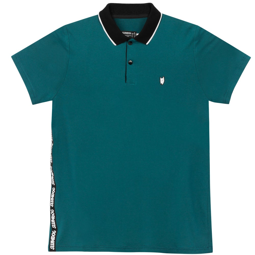 Image of POLO <br> TEAL BLUE