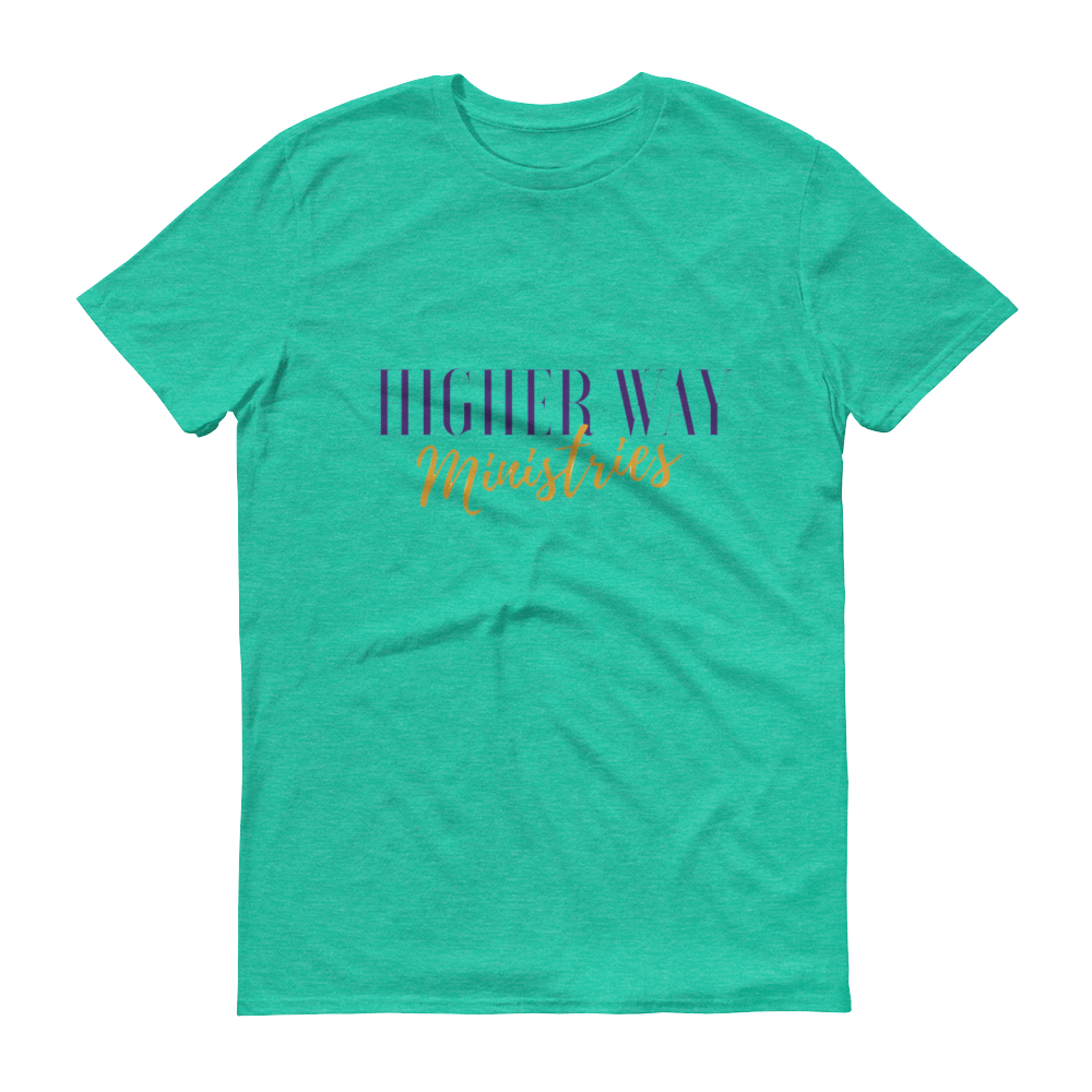 Image of Higher Way Ministries (HWM) Tee Heather Green