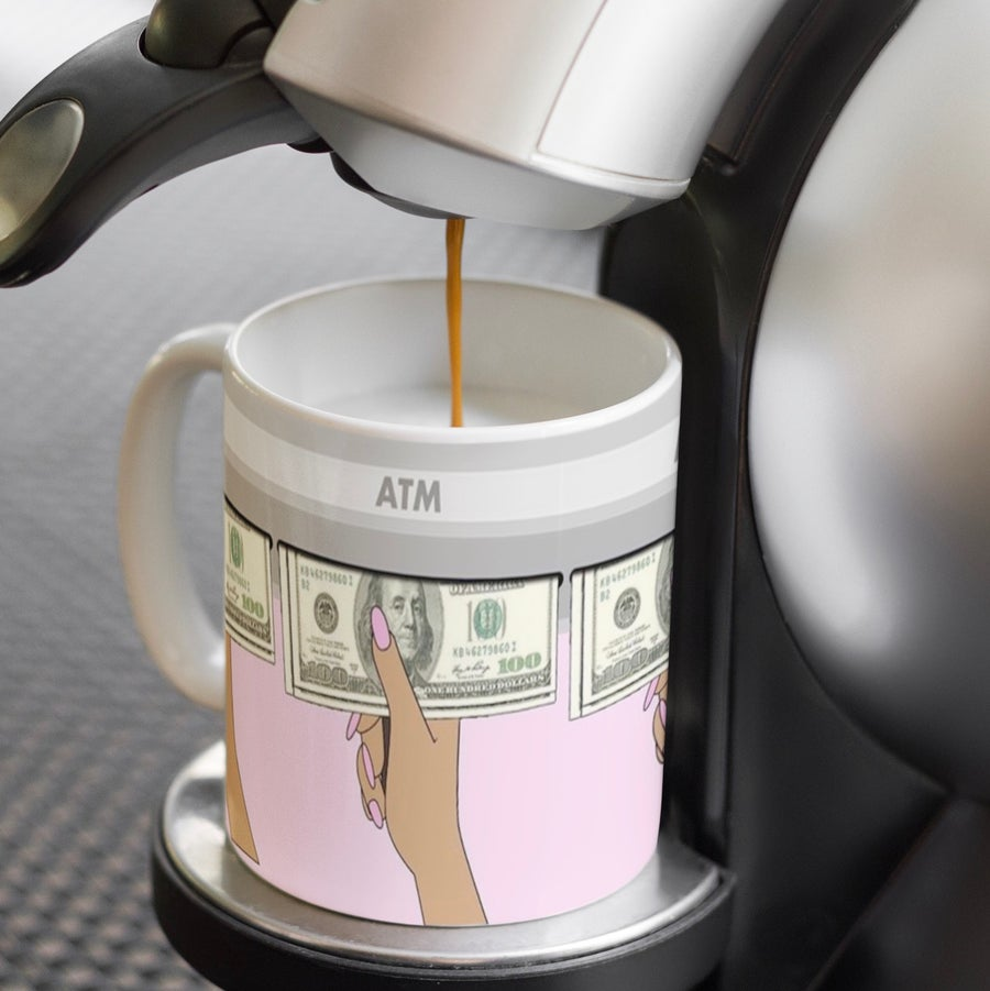 Image of Girl Boss ATM Coffee Mug