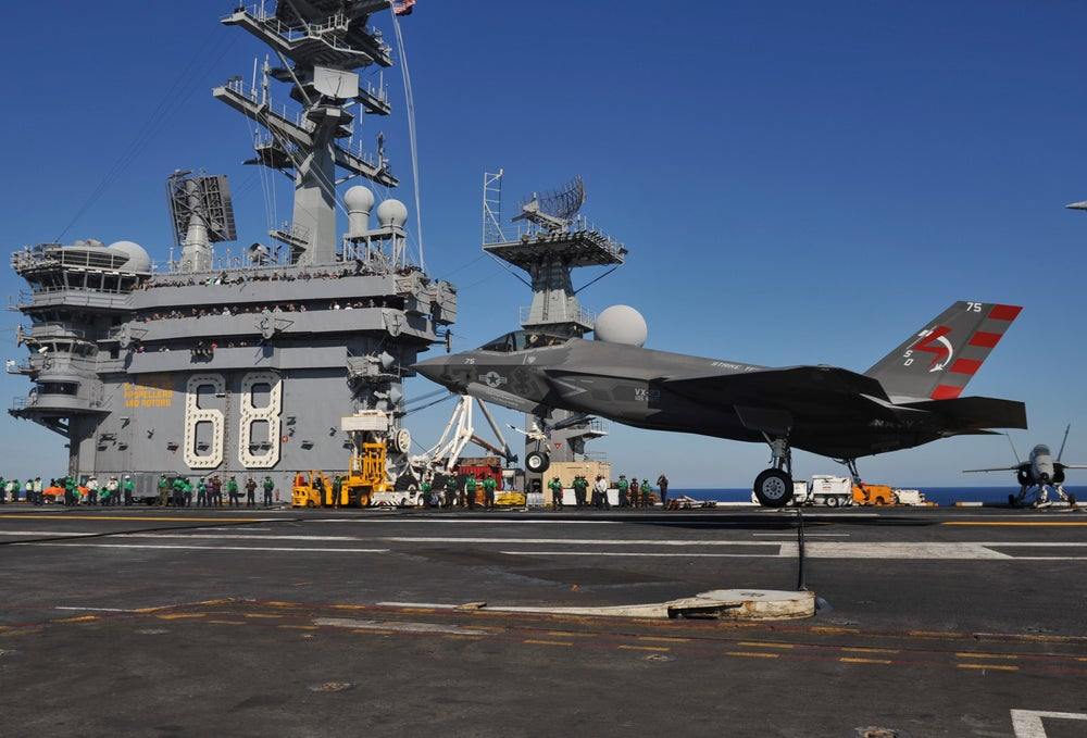 Image of Download F18 Carrier Landing For Computer