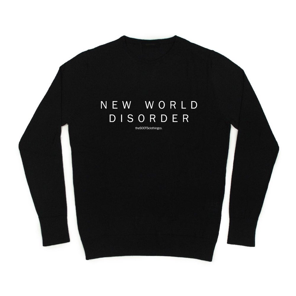 Image of *NEW* New World Disorder Sweat