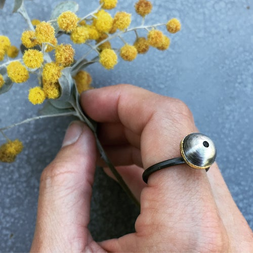 Image of Acacia Pod Statement Ring