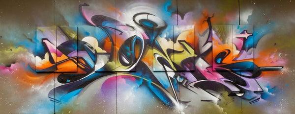 Image of Burner Graffiti Font Free Download
