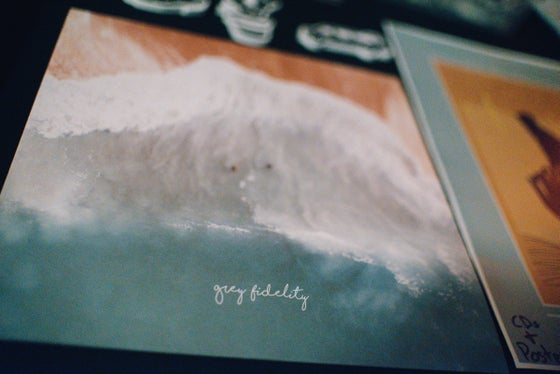 Image of Grey Fidelity Vinyl