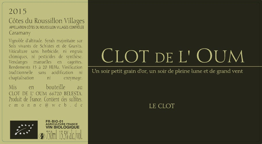 Image of LE CLOT 2015