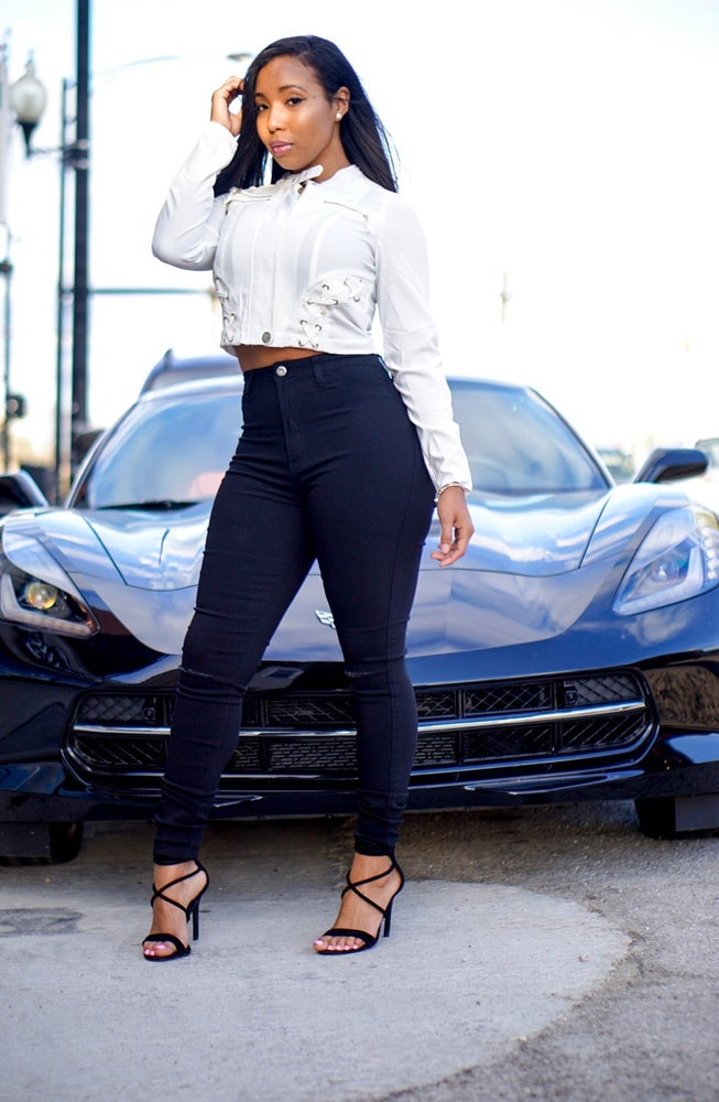 Image of Classic Black High Waist Jeans