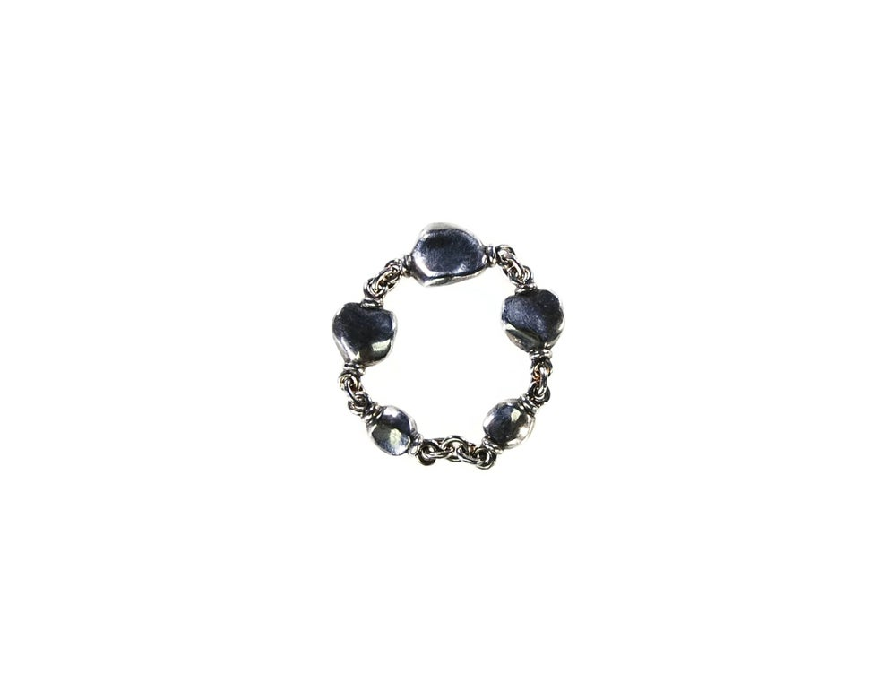 Image of Mare, silver chain ring
