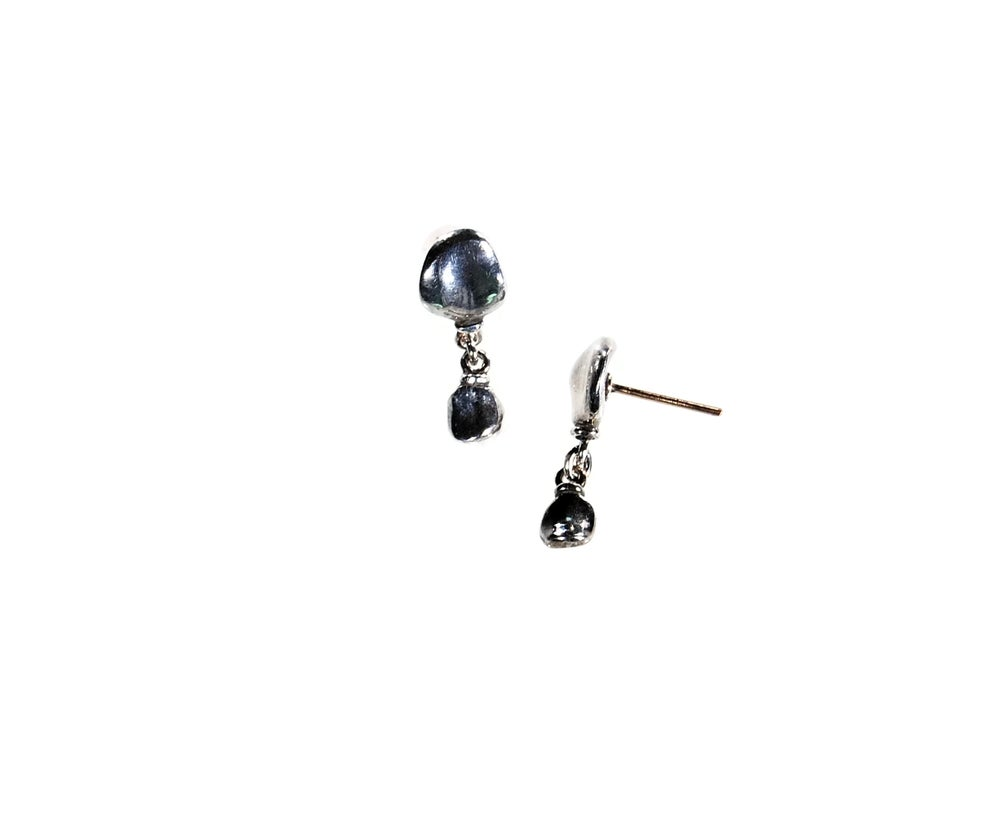 Image of Mare, silver earrings