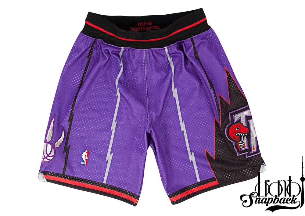Image of 1998-99 Authentic Shorts Toronto Raptors