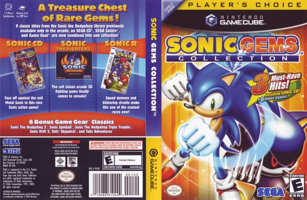 Image of Sonic Mega Collection Rom Download