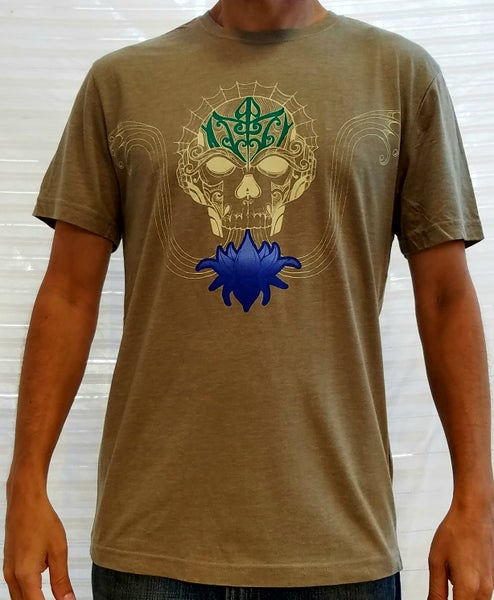 Image of Skull Lotus T-shirt