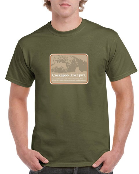 Image of #16 'Definition of a Cockapoo' Semi-Fitted T-shirt