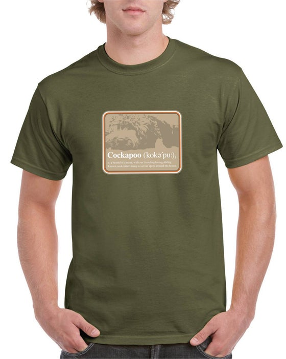 Image of #16 'Definition of a Cockapoo' T-shirt