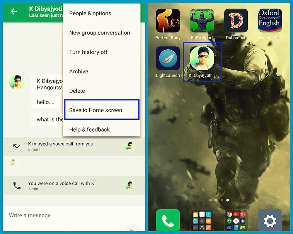 Image of Google Hangout Free Download For Android