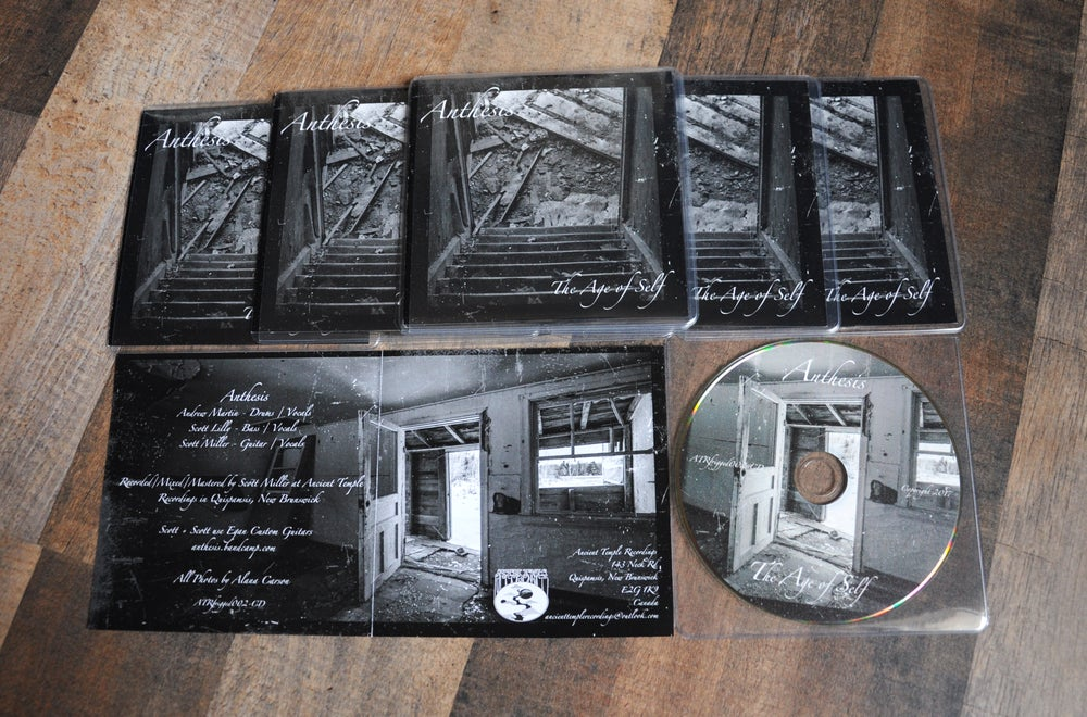 Image of Anthesis - The Age of Self CD *Ltd 100*