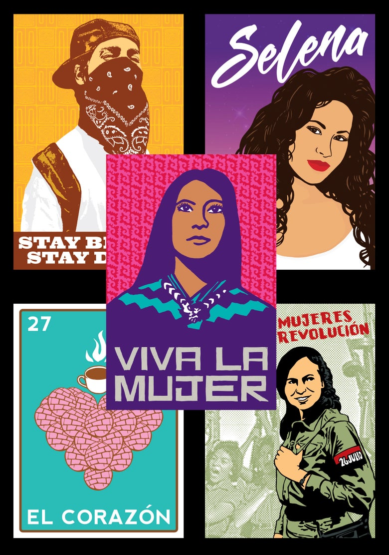 Image of Dignidad Rebelde Sticker Pack (2017)