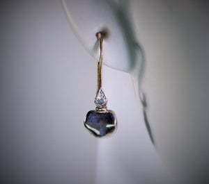 Image of Mare, diamonds earrings