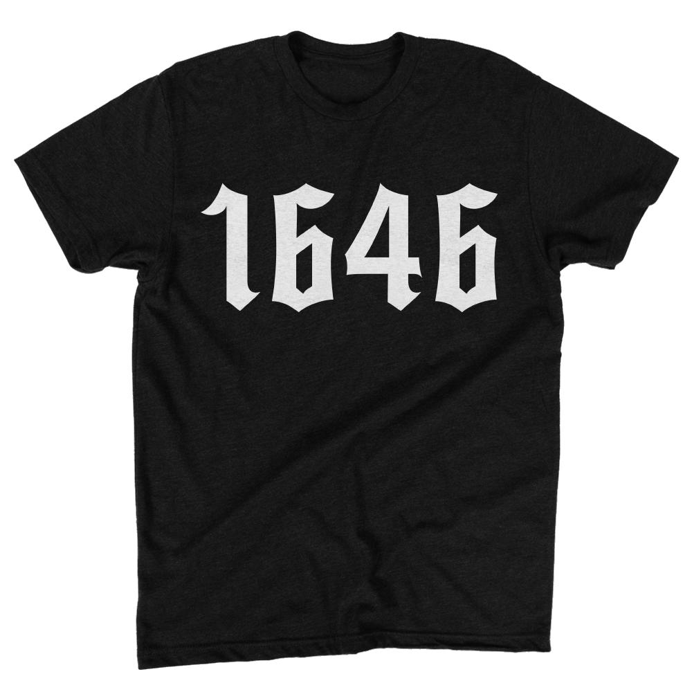 Image of 1646 Black Heather Shirt