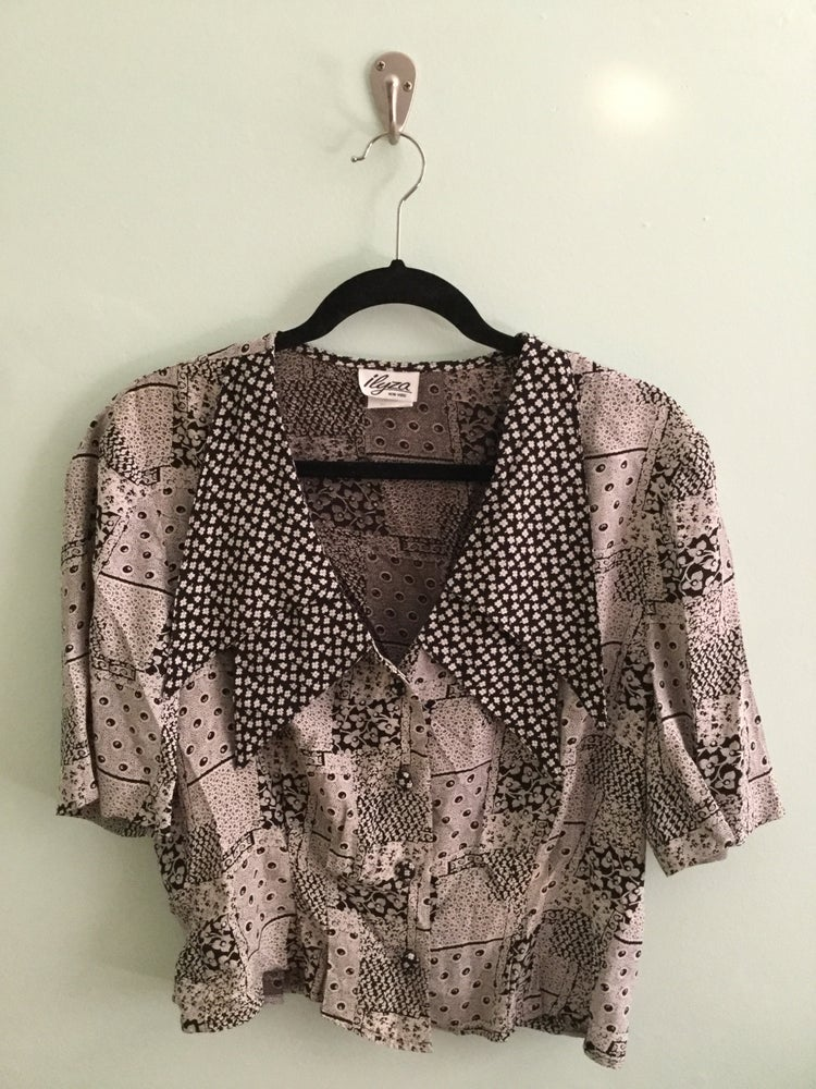Image of  double Chelsea collared button down