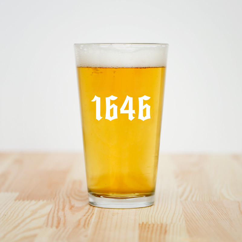 Image of 1646 Pint Glass