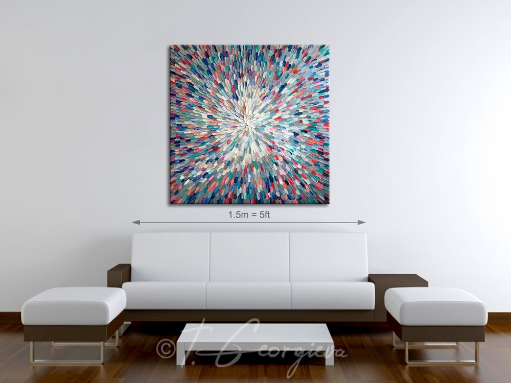Image of 'Universum transparent' - 100x100cm