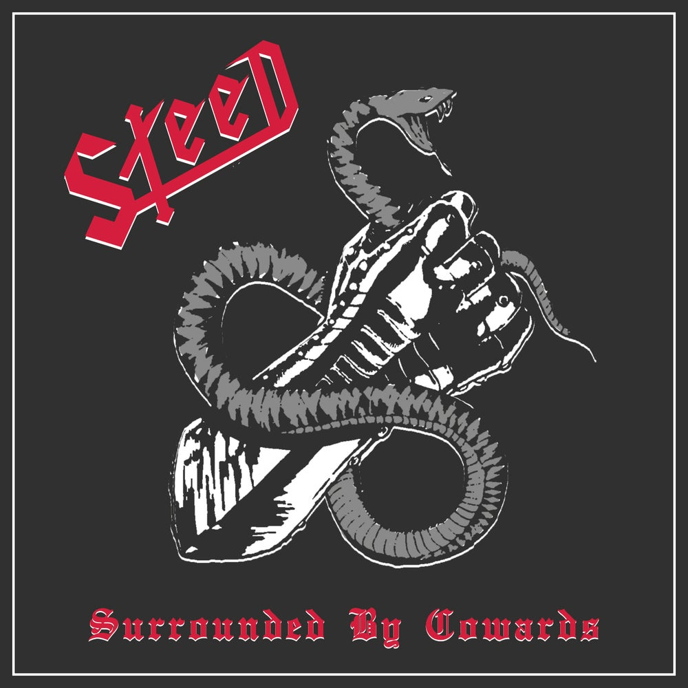 """Image of STEED """"Surrounded By Cowards"""" Cassette"""