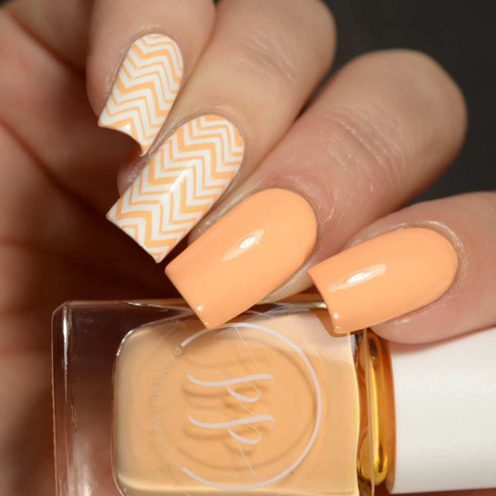 Image of Stamped in Peach