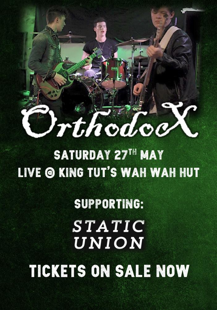 Image of Ticket - Live @ King Tut's Wah Wah Hut