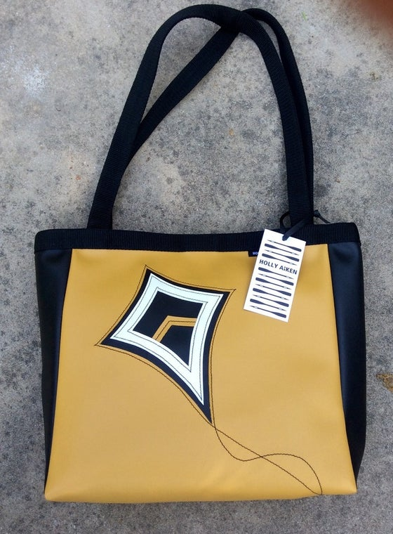 Image of Holly Aiken Gold Theta Bag