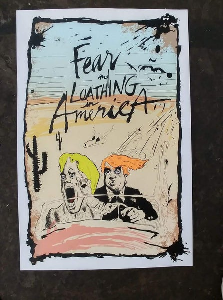 Image of Fear and Loathing in America (print)