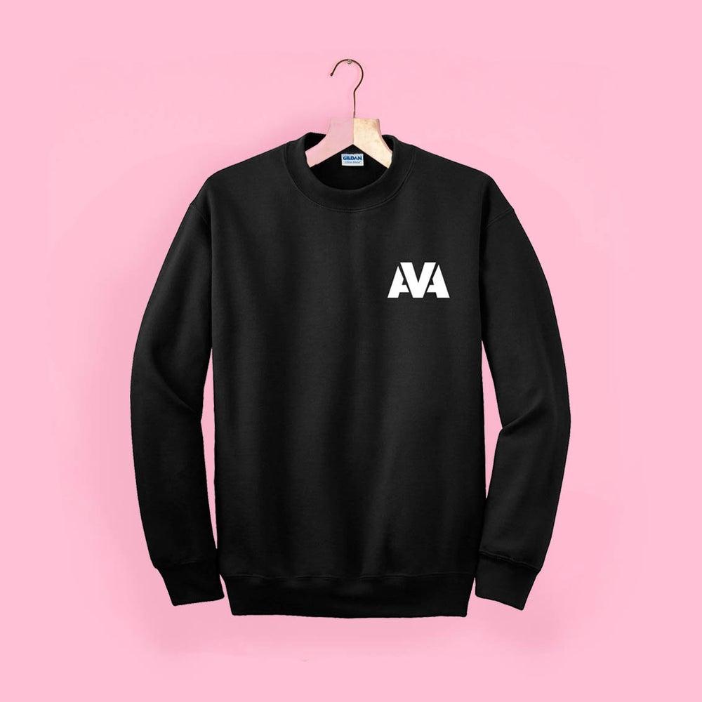 Image of AVA Classic Sweater - Black