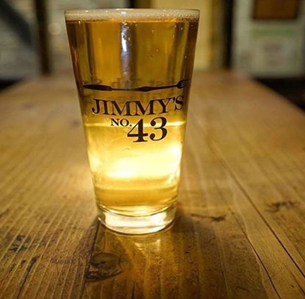 Image of Jimmy's no43 Pint Glasses