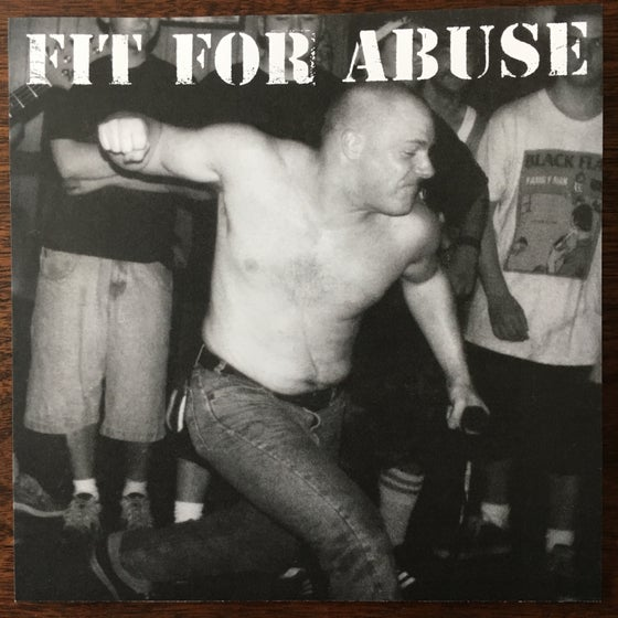 Image of FIT FOR ABUSE - The Psycho Ray Sessions EP