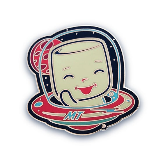 Image of Astro Marshall Enamel Pin