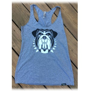 Image of Bulldog Tank Top - Heather Gray - Women