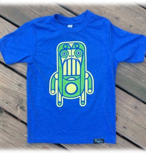 Image of Monkey Robot - Royal Blue - Kids
