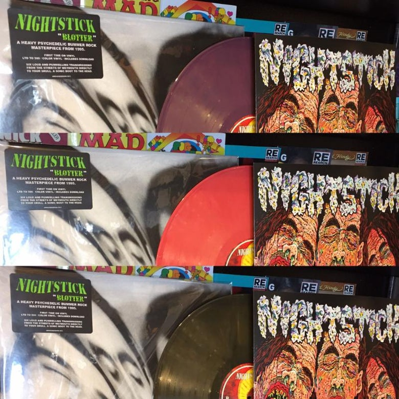 "Image of NIGHTSTICK ""Blotter"" LP"
