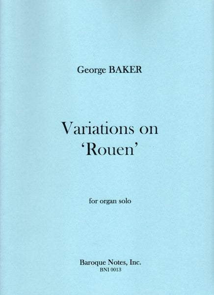 Image of Variations on 'Rouen'
