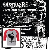 "Image of AA!#74 HARDWARE ""Burning In The Sun"" LP W/Shirt Pre-Order SHIPPING 5/15/17"