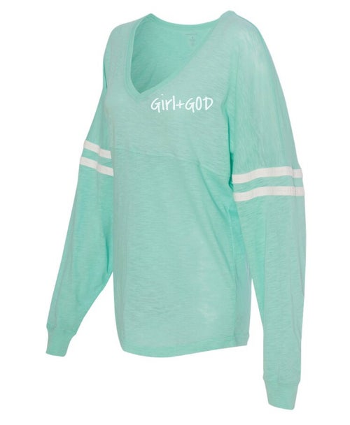 Image of Girl+God Varsity Shirt