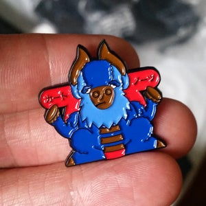 Image of CUT NOSE - Soft Enamel Pin