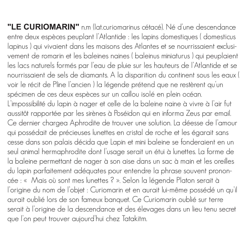 Image of LE CURIOMARIN BLACK