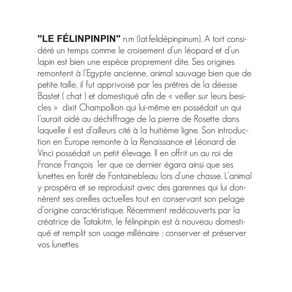 Image of LE FÉLINPINPIN LÉOPARD